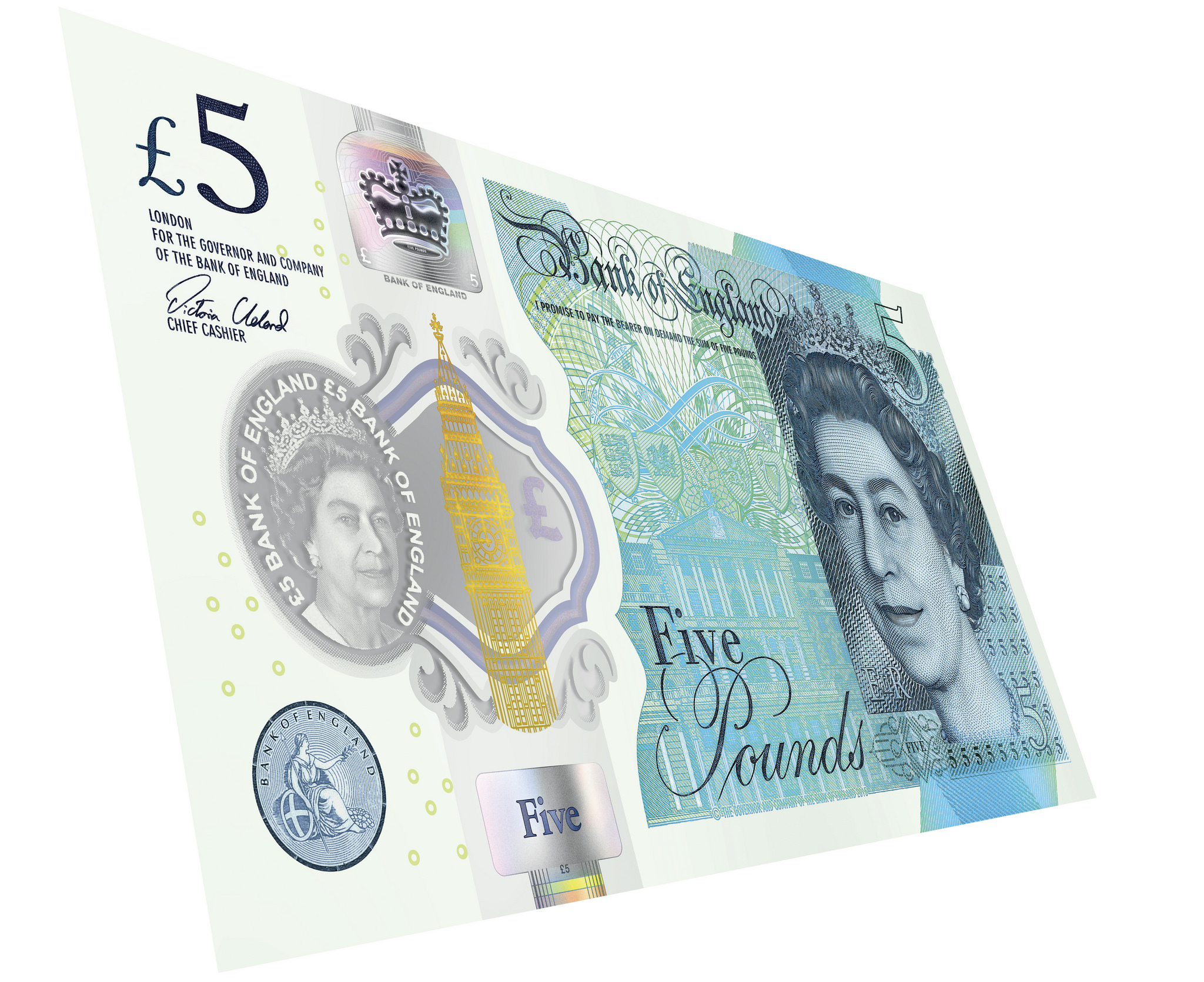 Old £5 notes not legal tender from May 5