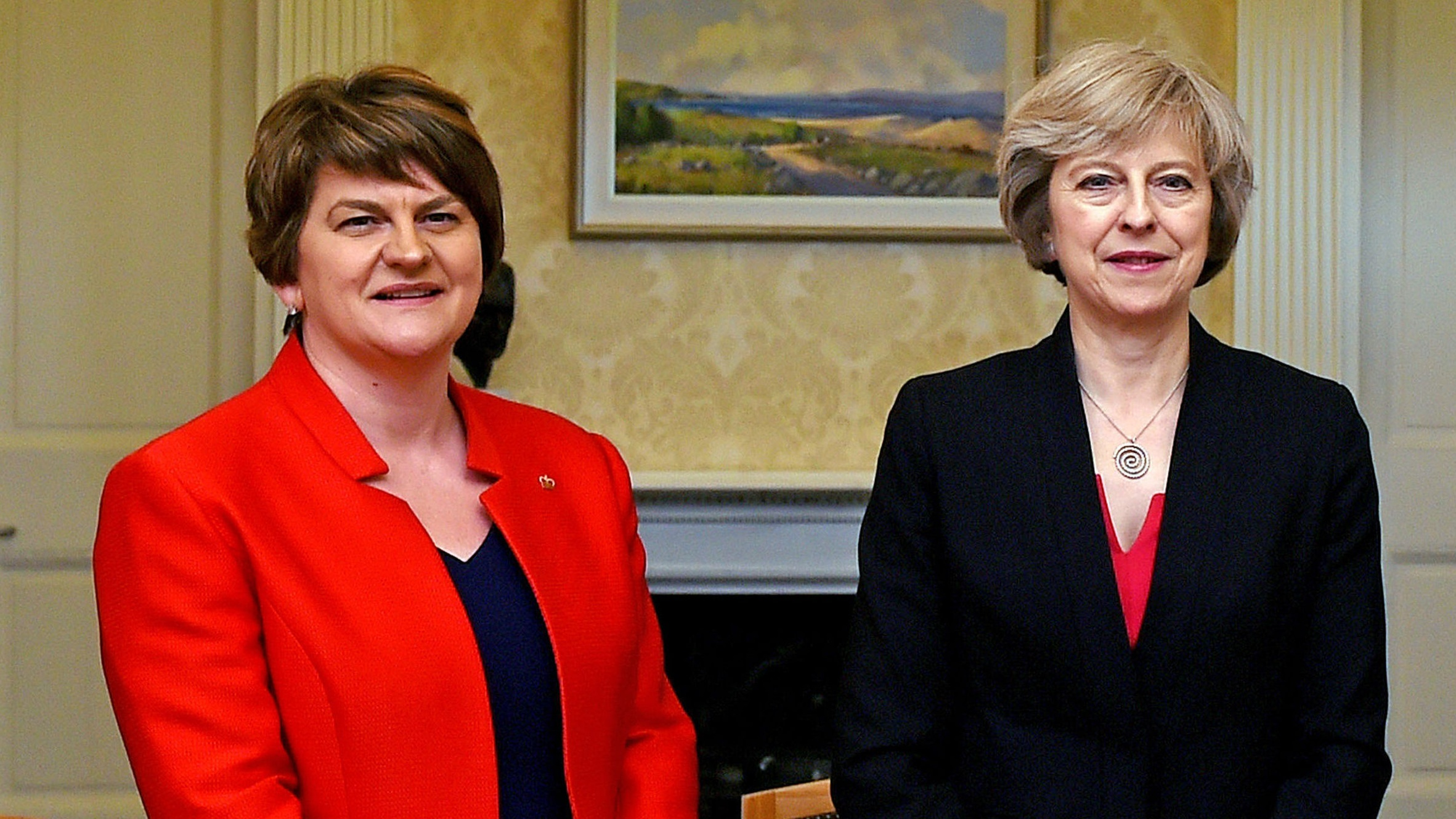 Theresa May continues talks with DUP to prop up British government
