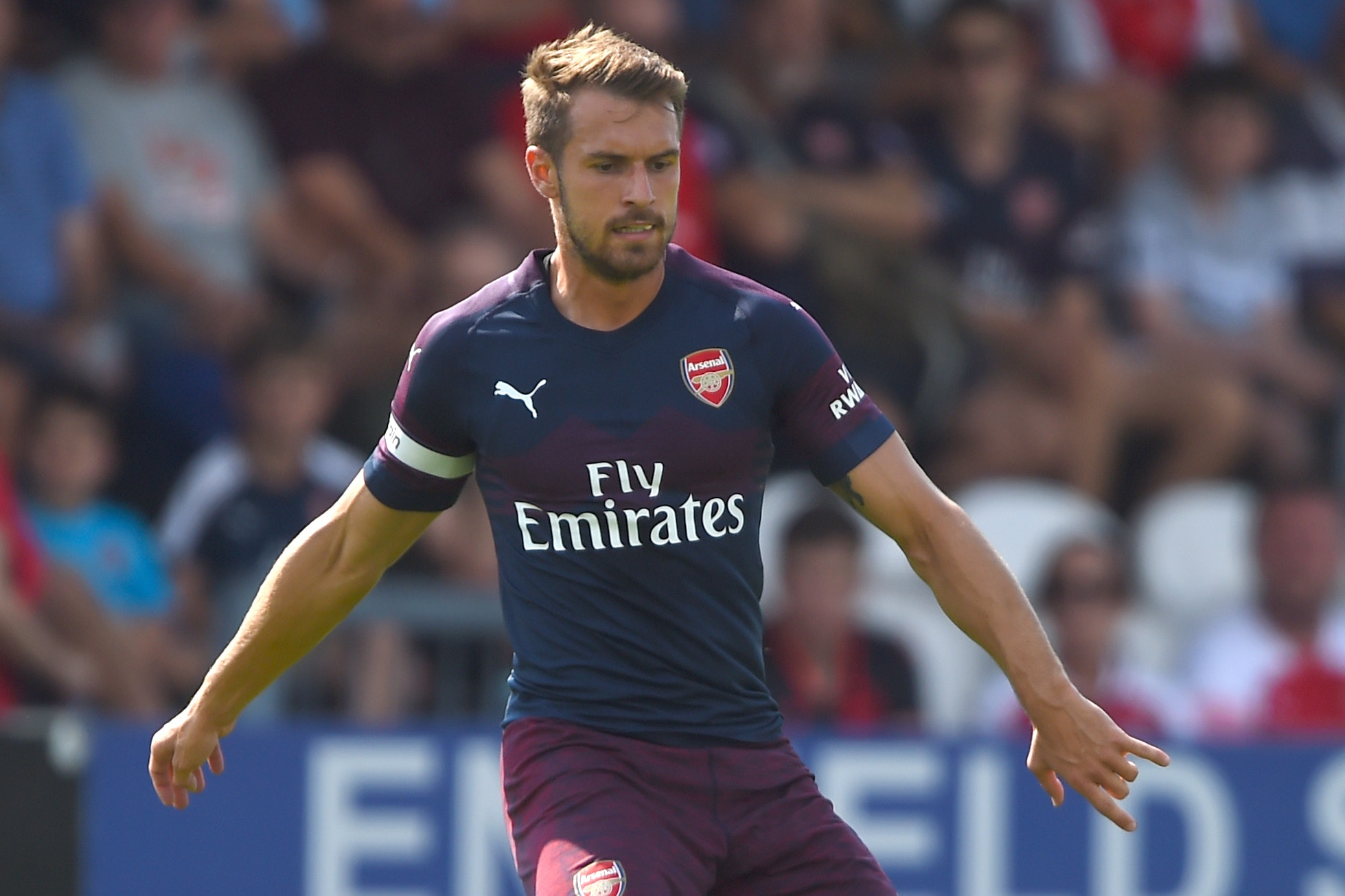 Unai Emery gives unconvincing response to Aaron Ramsey's contract situation